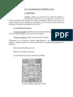 TEMA 09 El Siglo XVI. Los Problemas Espirituales