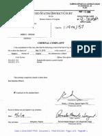 James Jordan Federal Criminal Complaint