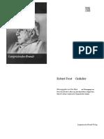 Robert Frost - Gedichte Von Robert Frost