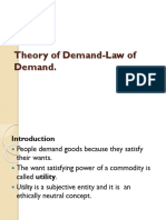 1.Theory of Demand