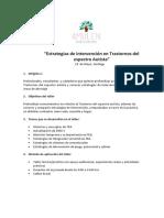Programa TEA Santiago