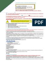 Manual de Instrucciones EMERGENCIAS