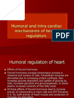 Humoral and Intra Cardiac Mechanism of Heart' Regulation
