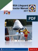 BSA Lifeguard Instructor Manual 2017