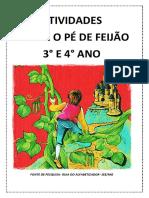 Atividades João e o Pé de Feijão PDF