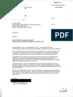 RCMP letter