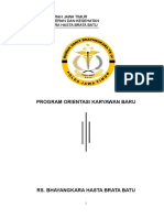 Program Orientasi Karyawan 2018