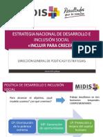 Direccion general de politicas y estrategias