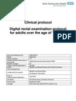 Digital Rectal Examination Protocol