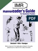 IMR Handloaders Guide