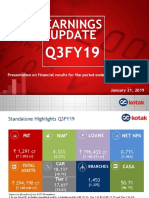 Q3FY19 Earning Update