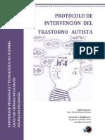 Protocolo de Intervención Del Trastorno Autista