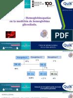 Hemoglobinopatías Con Medición de Hb Glicosilada Dra. Aida Porras
