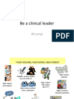 Clinical Leader 2019 Be a Leader