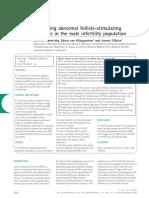 Apr 2013 Redefining Abnornal FSH in Male Infertility