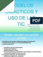 Modelos Didacticos y Uso de Las Tic