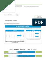 Cursos ERASMUS Para El Año 2019