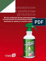 Informe Autorizaciones Pesticidas Prohibidos de Ecologistas en Acción