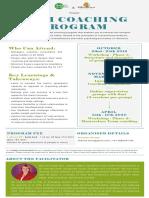 Team Coaching Program - Drs Sari Van Poelje