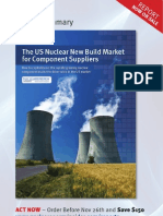 The US Nuclear New Build Market for Component Suppliers Report Summary