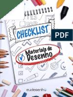 Eudesenho Checklist Materiais