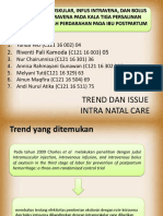 Trenddanissue Intranatalcare(INC) Kelompok3-1