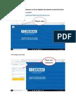 Orientações para acessar os livros digitais da estante virtual do Senai.docx