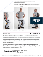 Chairless Chair_ a Wearable Device That Will Let You Sit Anywhere You Want - The Irish News