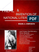 Invention of National Lit (Feat Rizal)