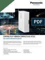KX HTS32CE Panasonic KX HTS32 Datasheet Esp