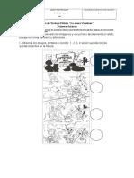 prueba de Ciencias sociales señales 2° año