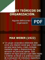 Modelos Teóricos de Organización