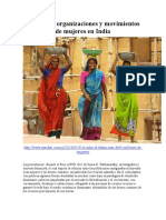 Relatos de Organizaciones y Movimientos de Mujeres en India