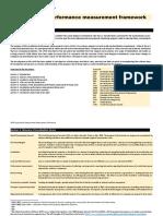Localisation Measurement Performance Framework