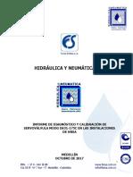 Informe Diagnóstico y Calibración SV Moog D631-175C - HNSA 2017