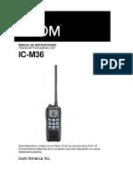 m 36 Spanish Manual