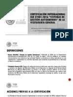 ISO 37001 aplicación
