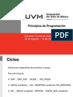 UVM - Principios de Programacion - 03 Ciclos