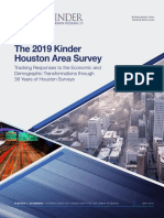 2019 Kinder Houston Area Survey