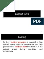 1 Casting Intro