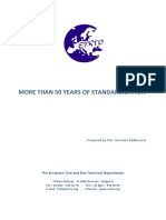 Etrto More Than 50 Years of Standardisation 2015-03-25