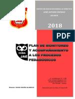 2018 Plan de Acompañamiento CEBA JAE