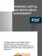 Working Capital and Receivables Management