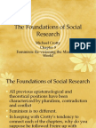 The Foundations of Social Research Ch 8