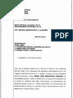 2019-5-13 Auto Extradición Juez Peruano Hinostroza