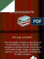 TEMA 15 LA MONOGRAFÍA..ppt