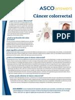 Cancer de Colon Informacion Al Paciente