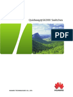 Quidway S6300 Switch Brochure