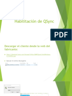 Habilitación de QSync