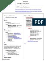 Metodos Numericos Mar Del Plata
